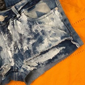 made in la Shorts - Bleached Out Babes Denim Shorts (7)